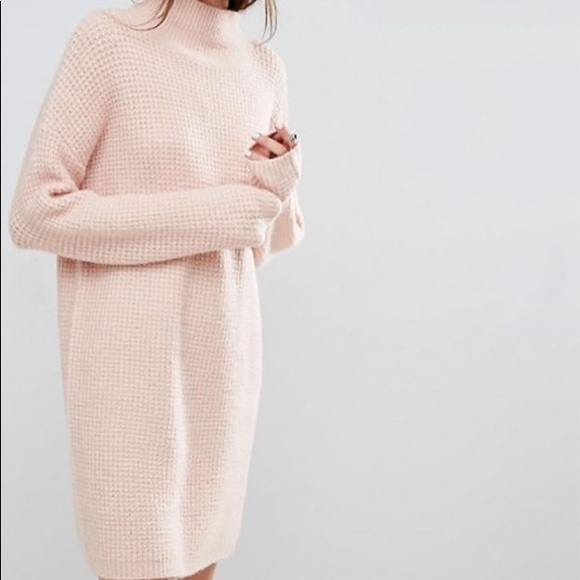ASOS Pink Sweater Dress